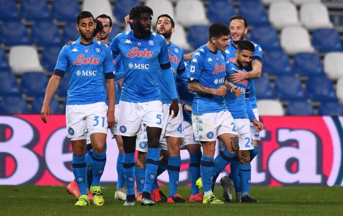 Sassuolo-Napoli, rabbia di Insigne nel finale  
