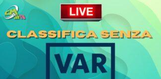 CMIT TV   Serie A, la classifica senza VAR: SEGUI la DIRETTA!