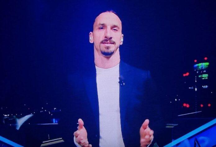 Milan-Udinese, Ibrahimovic collegamento con Sanremo su partita e Astori