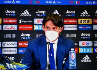 """Juventus-Lazio, conferenza Inzaghi: """"Adesso abbiamo un solo obiettivo"""""""