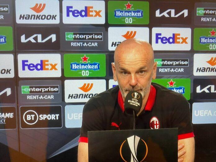 conferenza Pioli Manchester United-Milan