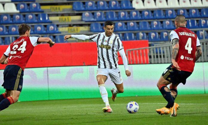 Cagliari-Juventus, Ronaldo
