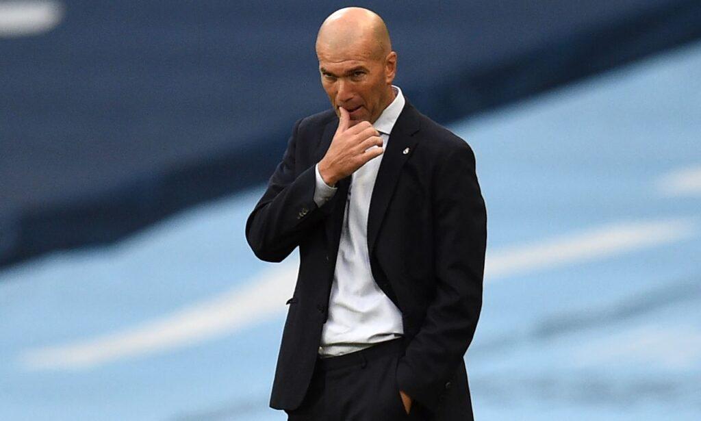 Zidane Preoccupato