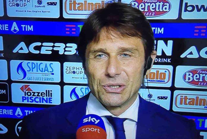 Spezia-Inter, Conte: