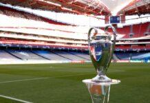 La coppa della Champions League