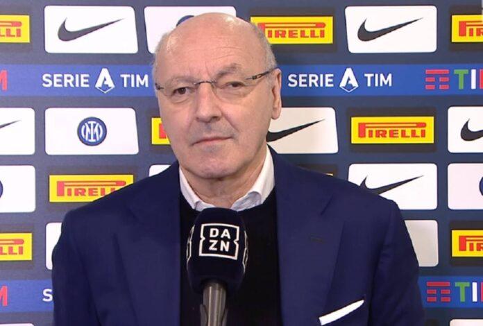 Inter-Sassuolo, Marotta su Covid, Conte e scudetto