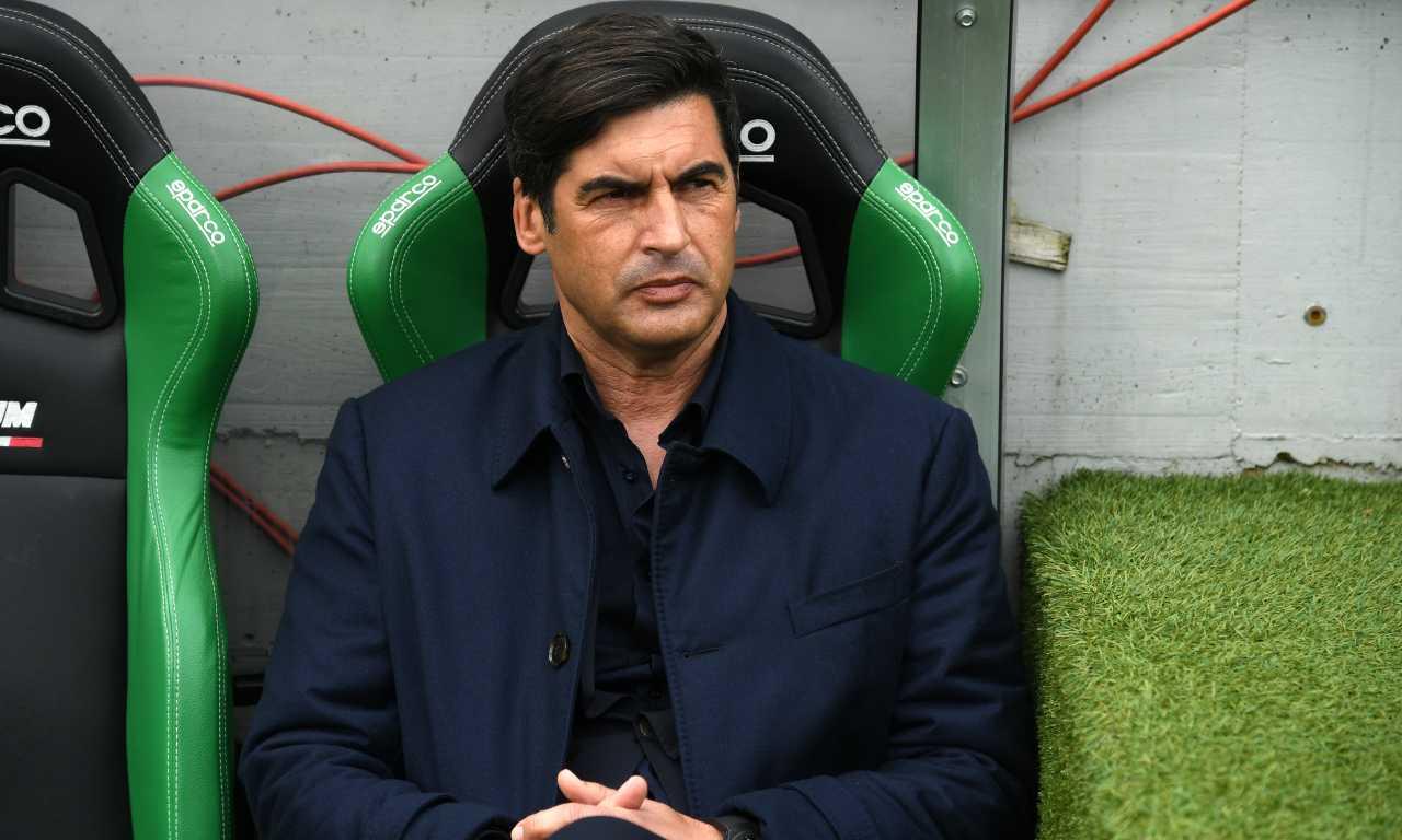 Sassuolo-Roma, disastro Fonseca | Tifosi infuriati col tecnico