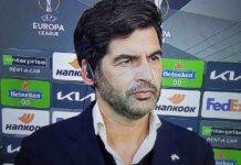 """Roma-Ajax, Fonseca: """"Dzeko è motivato. Futuro in giallorosso? Non lo so"""""""