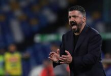 Calciomercato Napoli, Gattuso prima scelta della Fiorentina