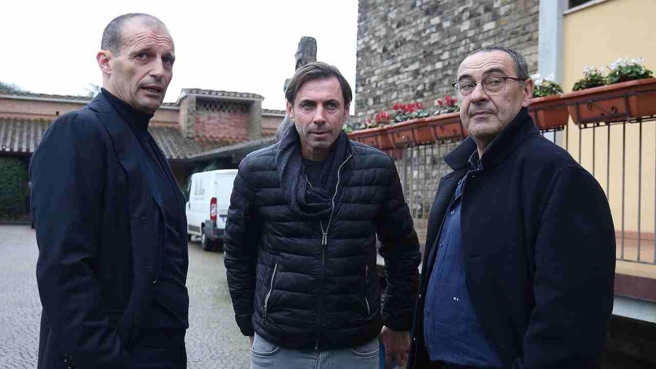 Calciomercato Roma Sarri Allegri Ramadani Thiago Pinto Friedkin