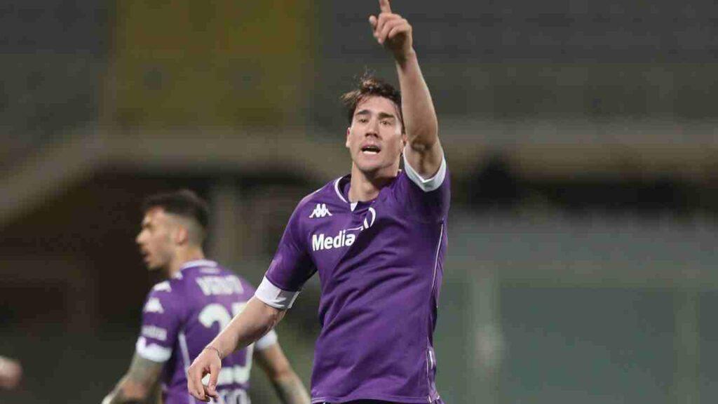 Calciomercato juventus Milan Roma Vlahovic