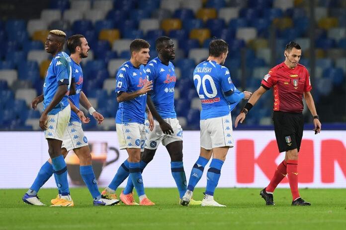 Serie A, le designazioni dei due recuperi: Mariani dirige Juve-Napoli