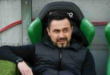 """Sassuolo, De Zerbi: """"Non ho piacere a giocare col Milan, colpo di stato"""""""