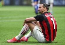 """Milan, critiche per Ibra """"Inutile se""""za Champions£"""