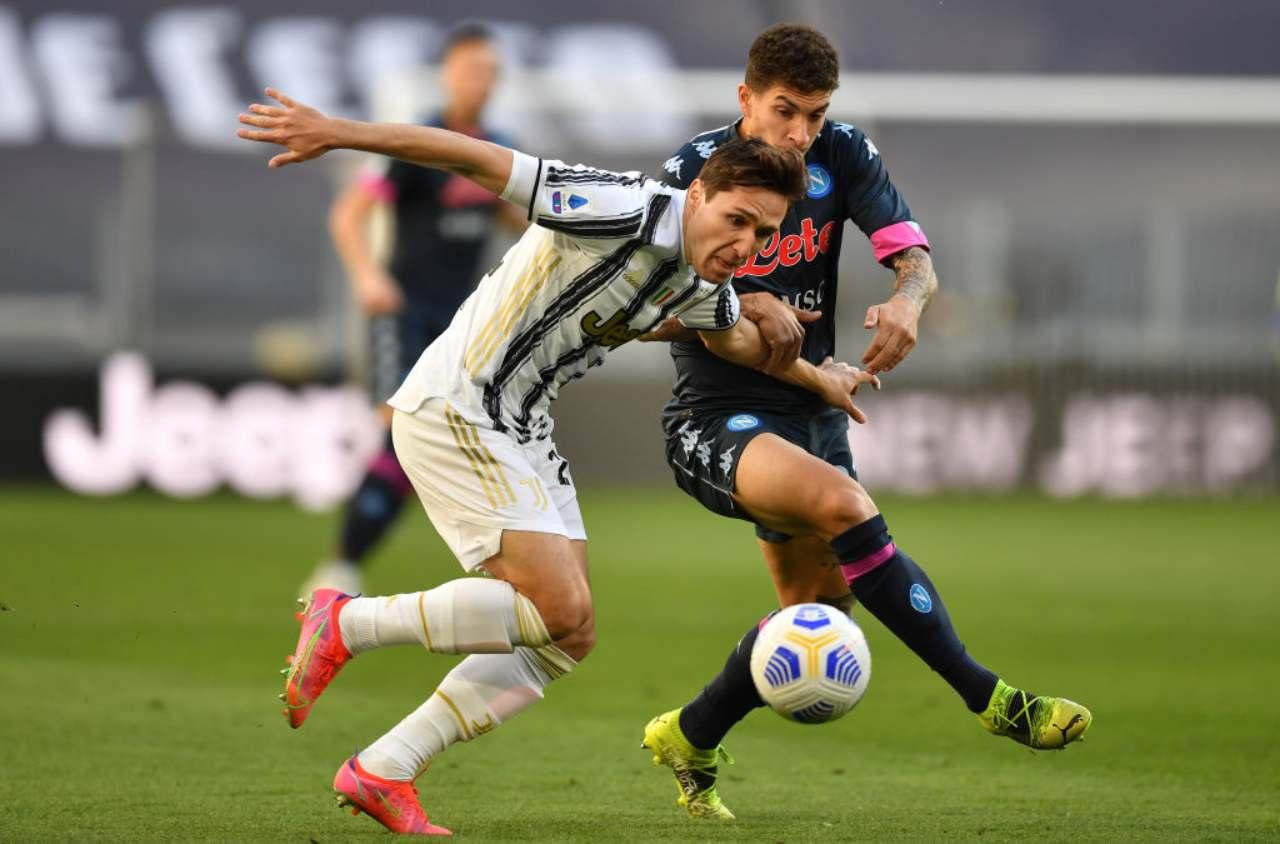 Juventus-Napoli, caos Var | Rigori Chiesa e Zielinski: gli episodi