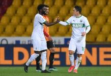 Benevento-Sassuolo, la cronaca del match
