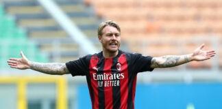 Simon Kjaer pagelle Milan-Genoa