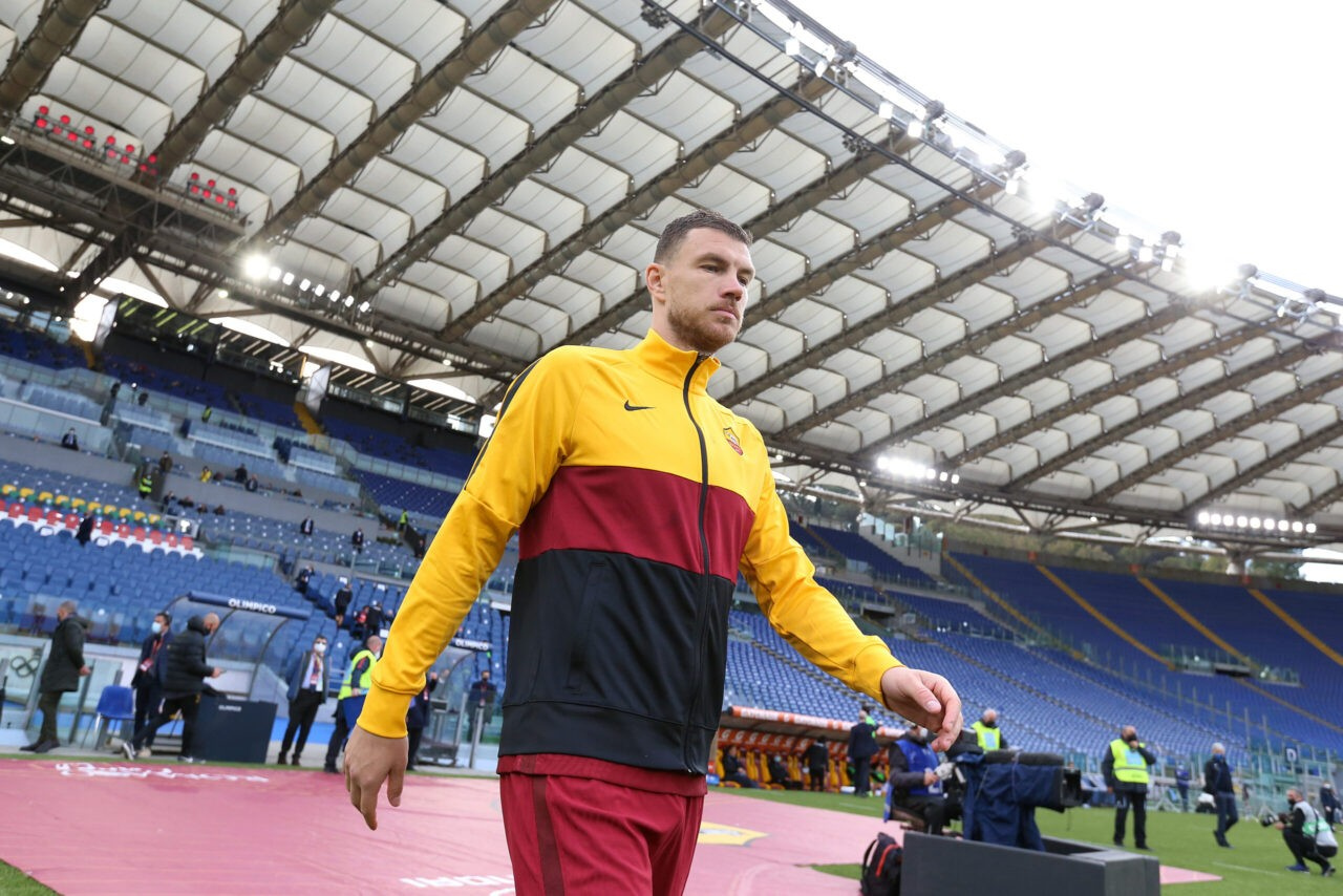 Roma, Dzeko tra Europa League e il ritorno a Manchester