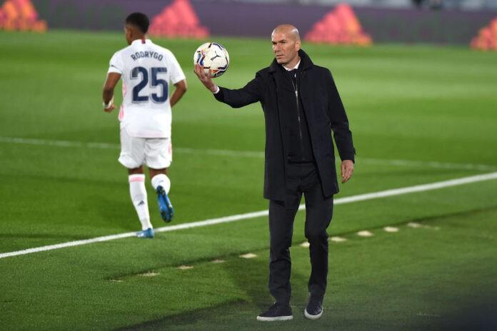 Zidane Real Chelsea Benzema