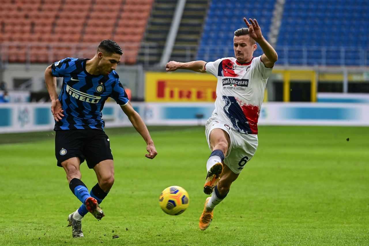 Calciomercato Inter, proposta da Londra per Hakimi