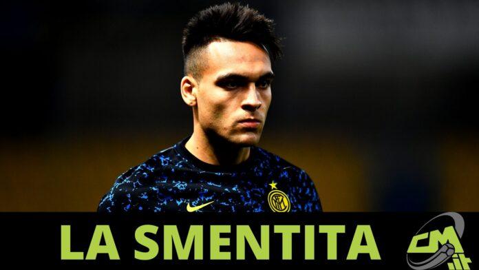 giallo agente Lautaro Martinez