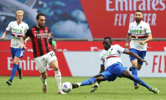 Milan-Sampdoria, scintille Donnarumma-Ranieri: