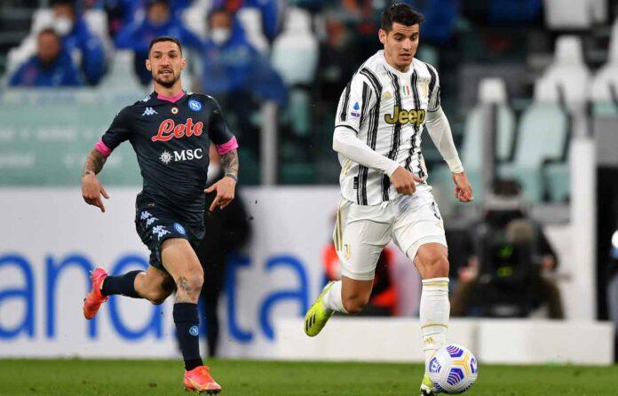 Calciomercato Juventus, nessuna chiamata all'Atletico Madrid per Morata