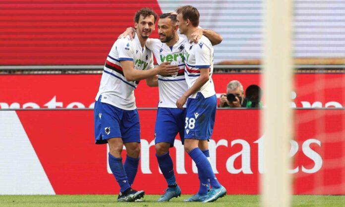 Serie A, Milan-Sampdoria 1-1   Hauge salva il Diavolo: infinto Quagliarella