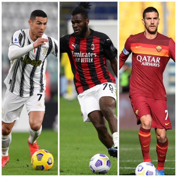 Ronaldo Kessie Pellegrini scadenza 2022