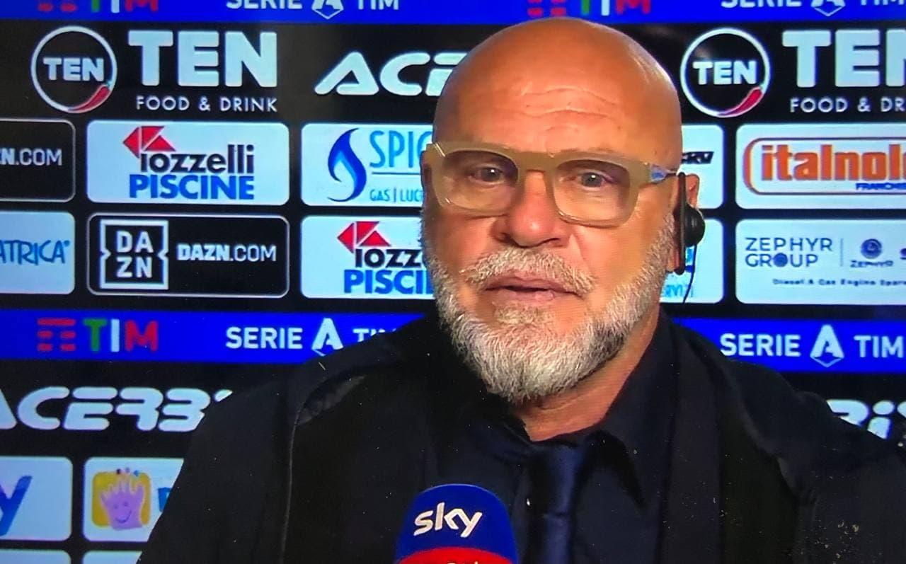 Serse Cosmi analizza Spezia-Crotone