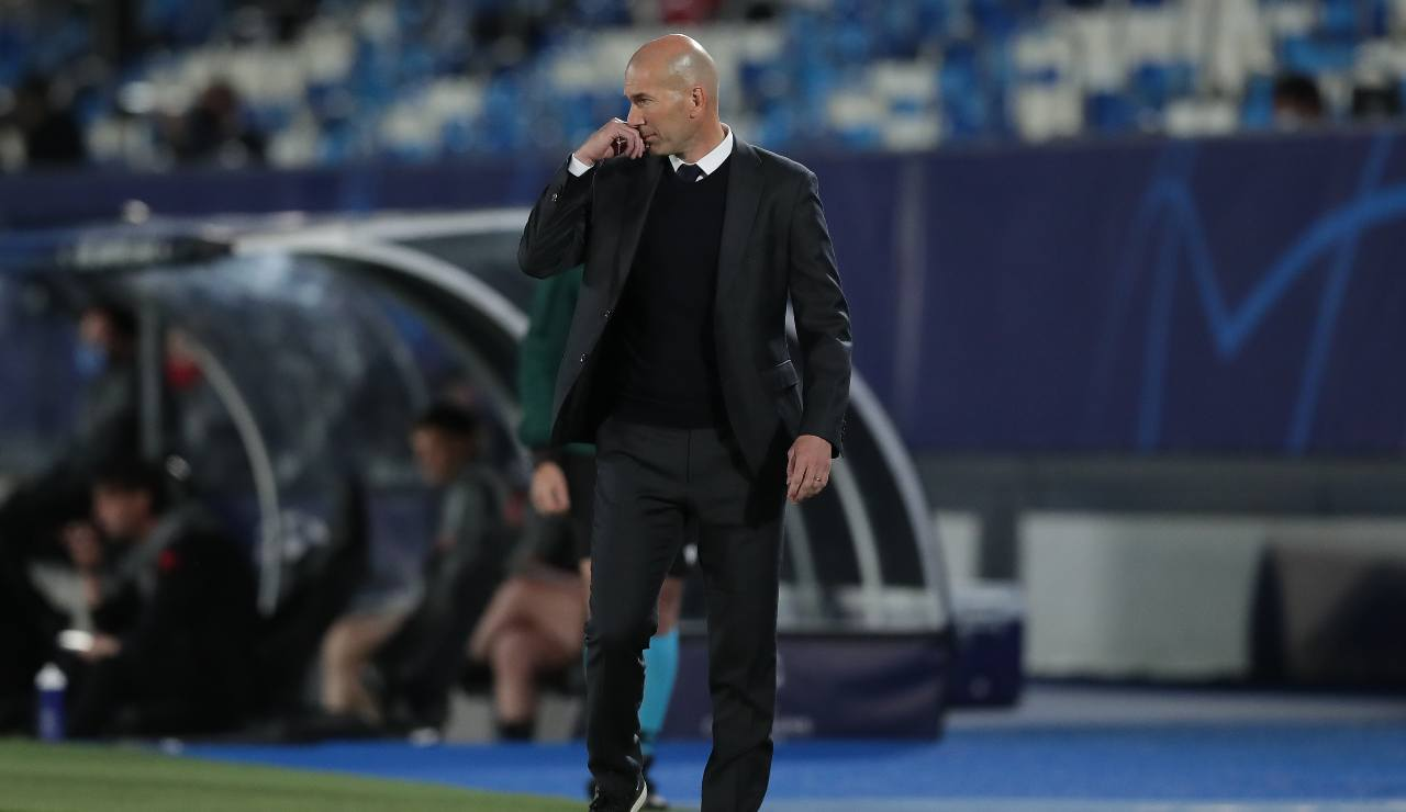 Zidane SuperLega Real Madrid Champions League