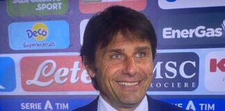 """Napoli-Inter, Conte: """"Del futuro di Suning non sappiamo niente"""""""
