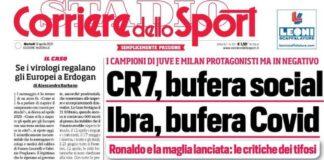 Corriere dello Sport, la prima pagina del 13 aprile 2021