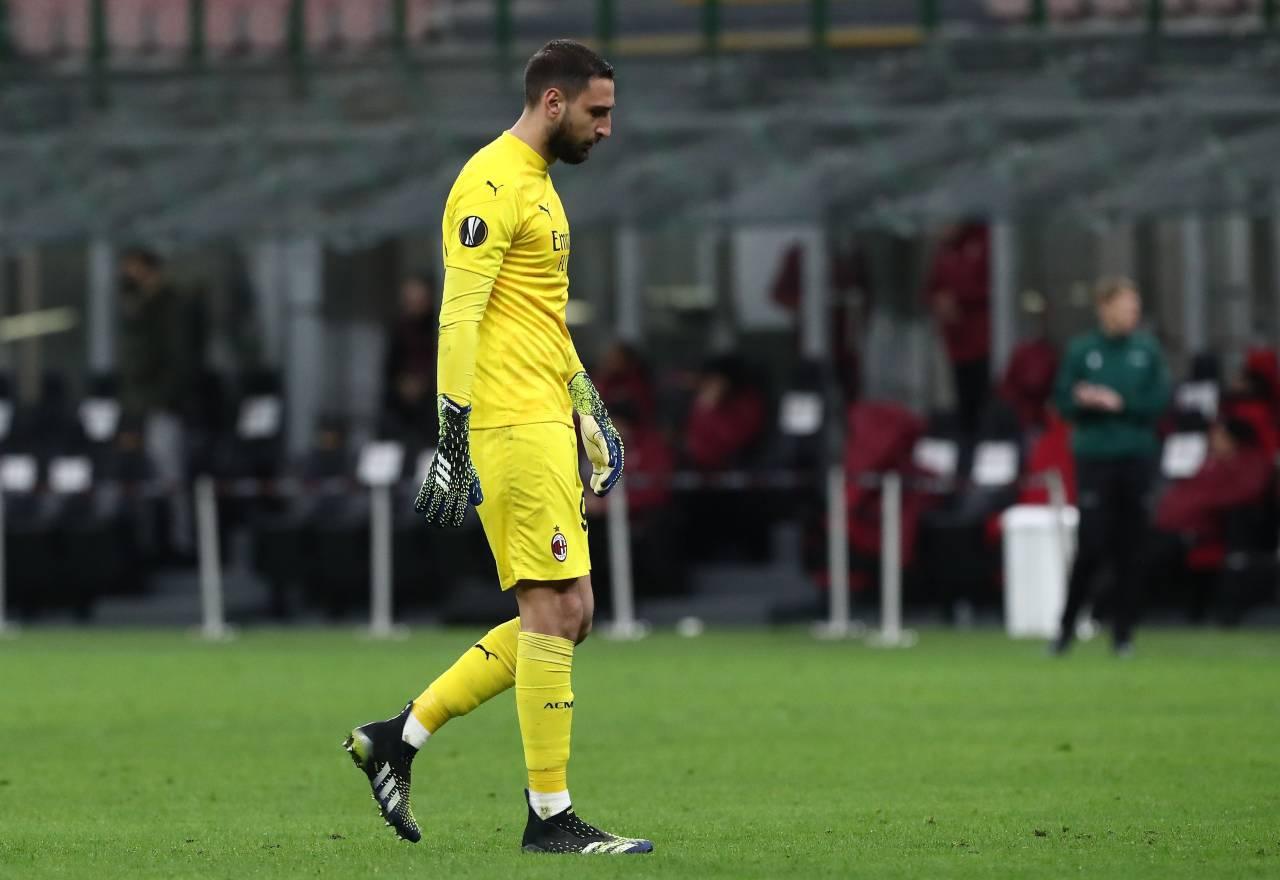 """Calciomercato Milan, l'attacco   """"Donnarumma non baci la maglia"""""""