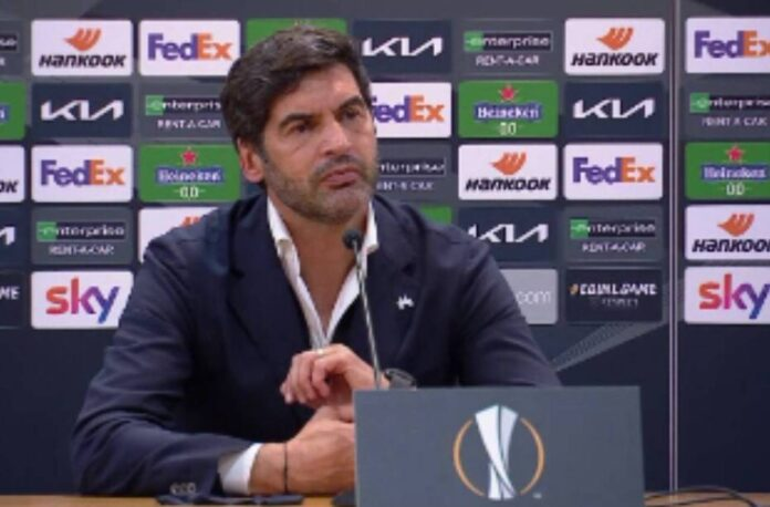 Roma-Ajax, Fonseca in conferenza: