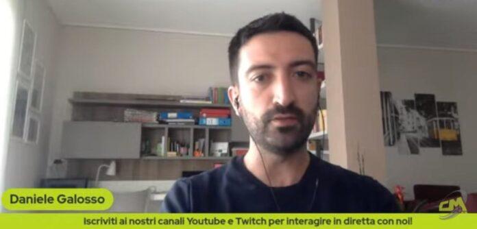Daniele Galosso a CMIT TV
