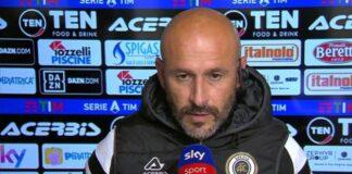 """Spezia-Crotone, Italiano: """"Vincere oggi è tanta roba, ma è ancora lunga"""""""