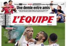 L'Equipe, la prima pagina di oggi 12 aprile