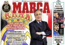 Marca, la prima pagina di oggi 13 aprile