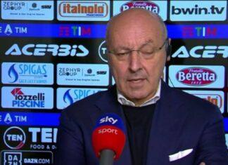 """Spezia-Inter, Marotta: """"Superlega nata per le difficoltà economiche"""""""