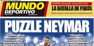 Mundo Deportivo, la prima pagina di oggi 13 aprile