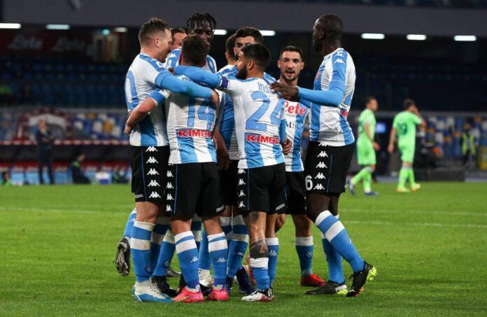 Serie A, Napoli-Lazio 5-2: Gattuso a -2 dalla Champions