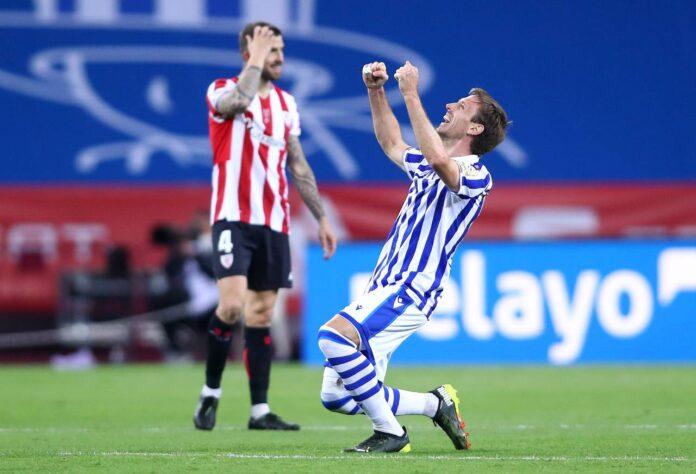Copa del Rey 2020, Athletic Bilbao-Real Sociedad 0-1: decisivo Oyarzabal