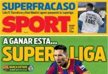 Sport, la prima pagina del 22 aprile 2021