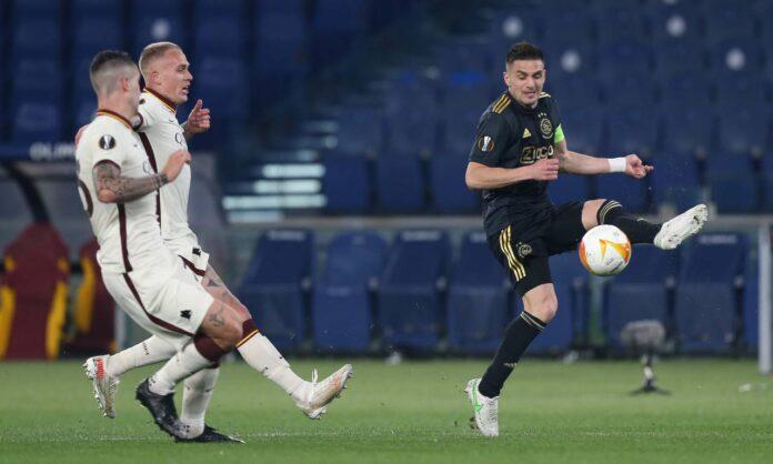 """Roma-Ajax, Tadic: """"Siamo più forti, meritavamo di passare"""