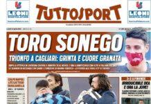 TuttoSport, la prima pagina di oggi 12 aprile 2021