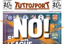 TuttoSport, la prima pagina di oggi 20 aprile 2021