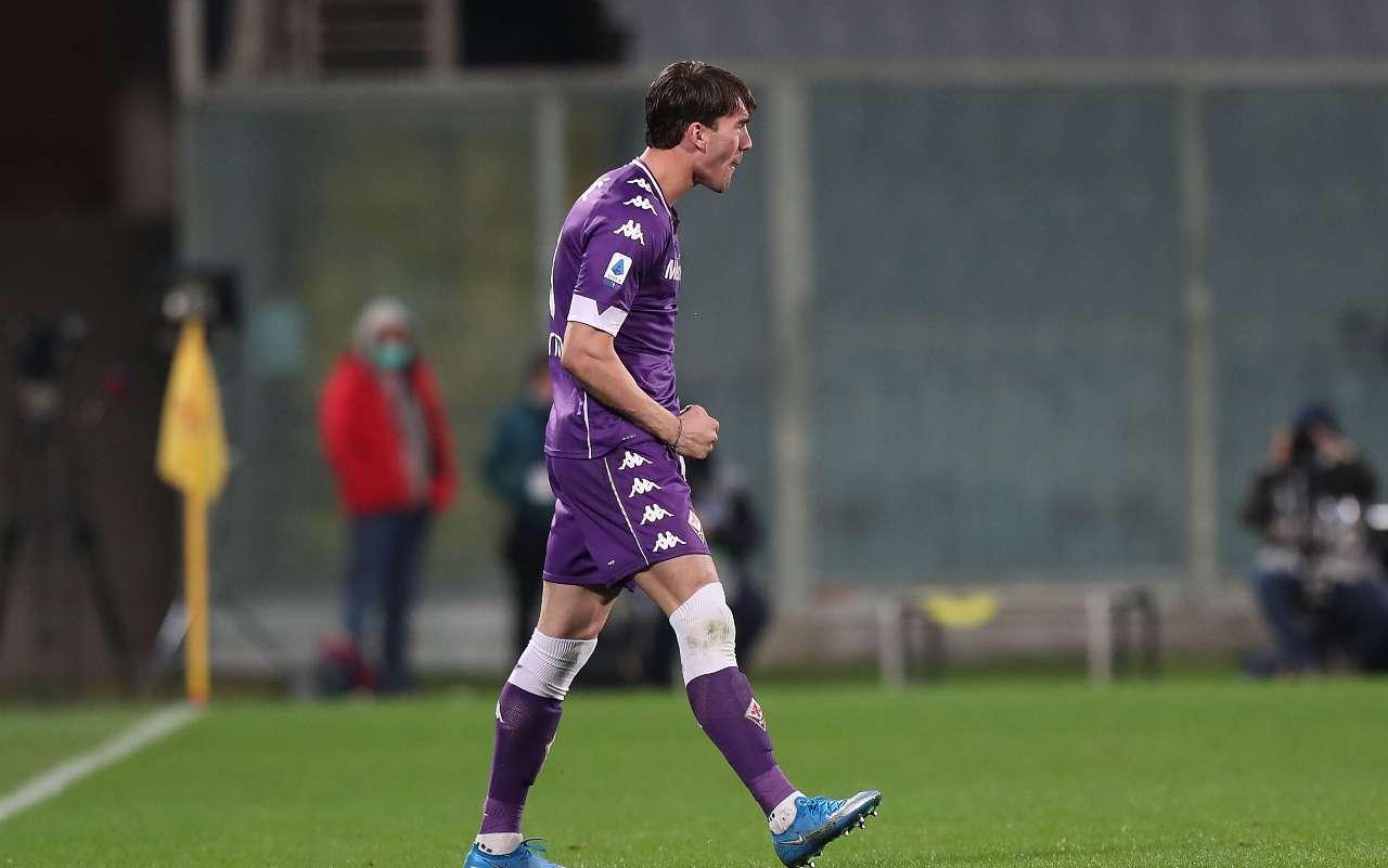 Milan Juventus Vlahovic Fiorentina rinnovo