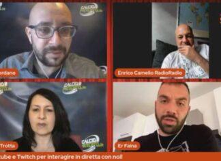 """Camelio: """"Milan-Belotti, De Zerbi non andrà al Napoli. Donnarumma..."""""""