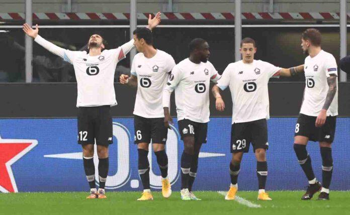 Lille Ligue 1 campione Francia PSG